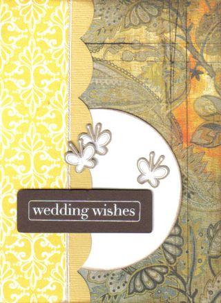 Card - wedding wishes