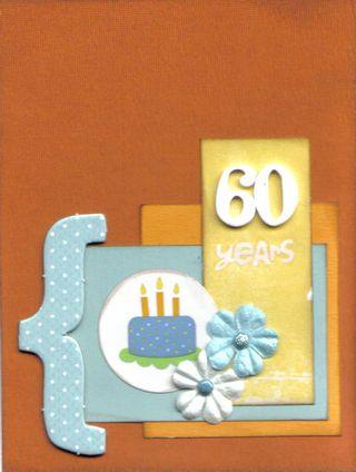 Card - 60 years