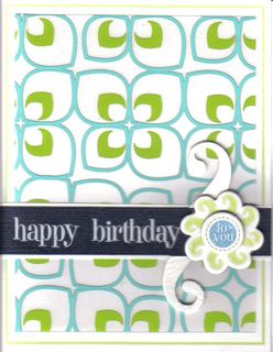 Card - birthday sheers