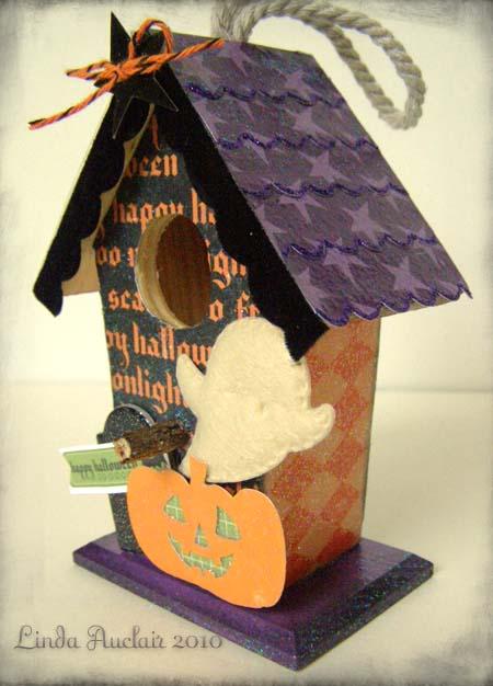 Ep happy halloween birdhouse