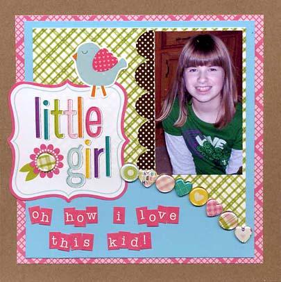 Little girl sized