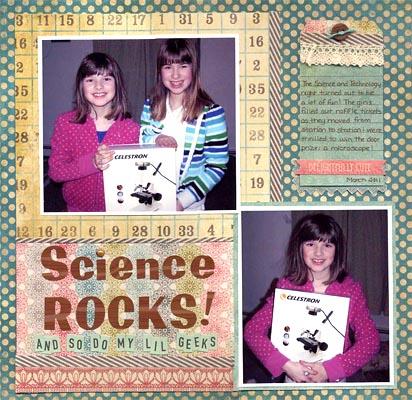 Science rocks sized